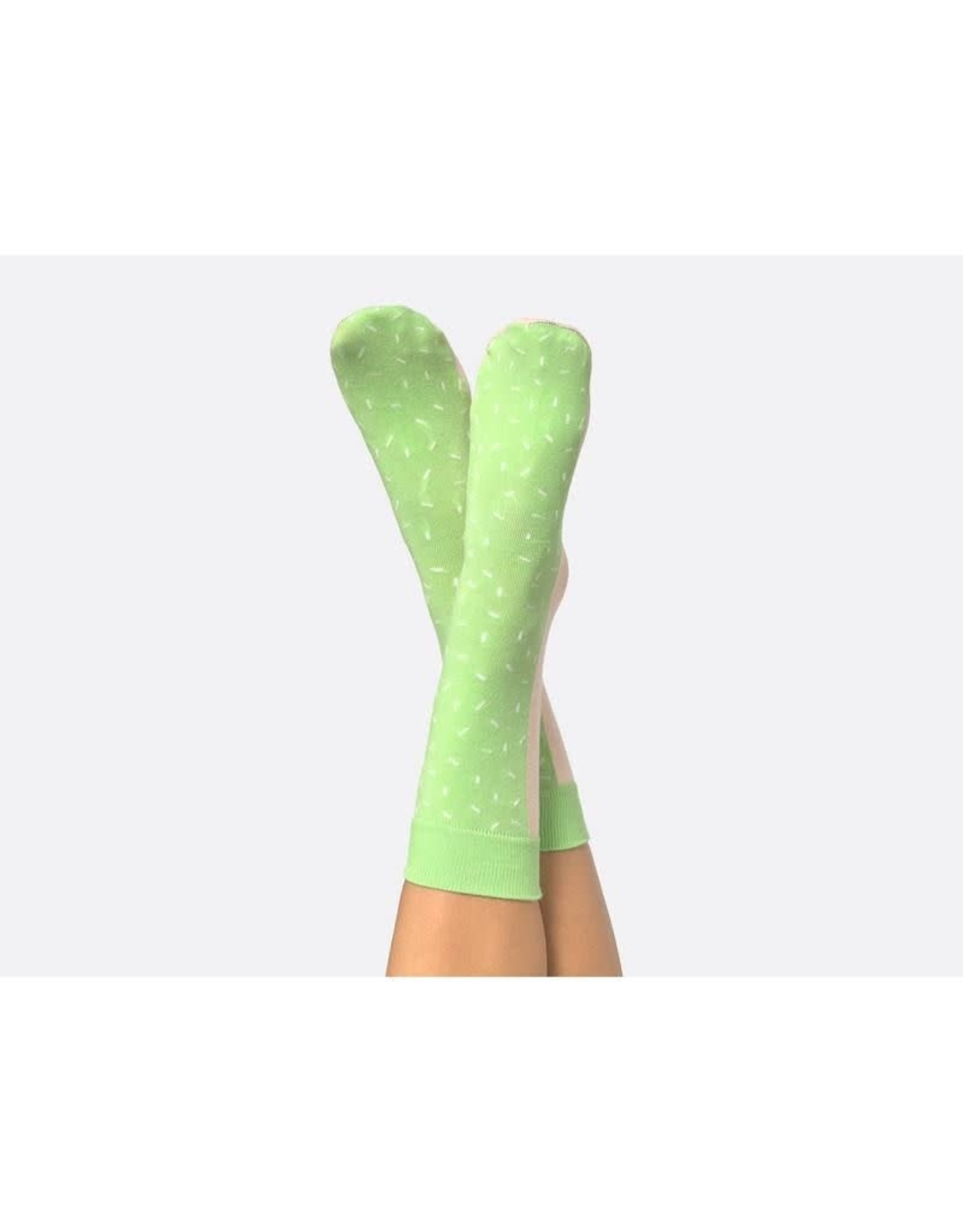 socks with ice cream design