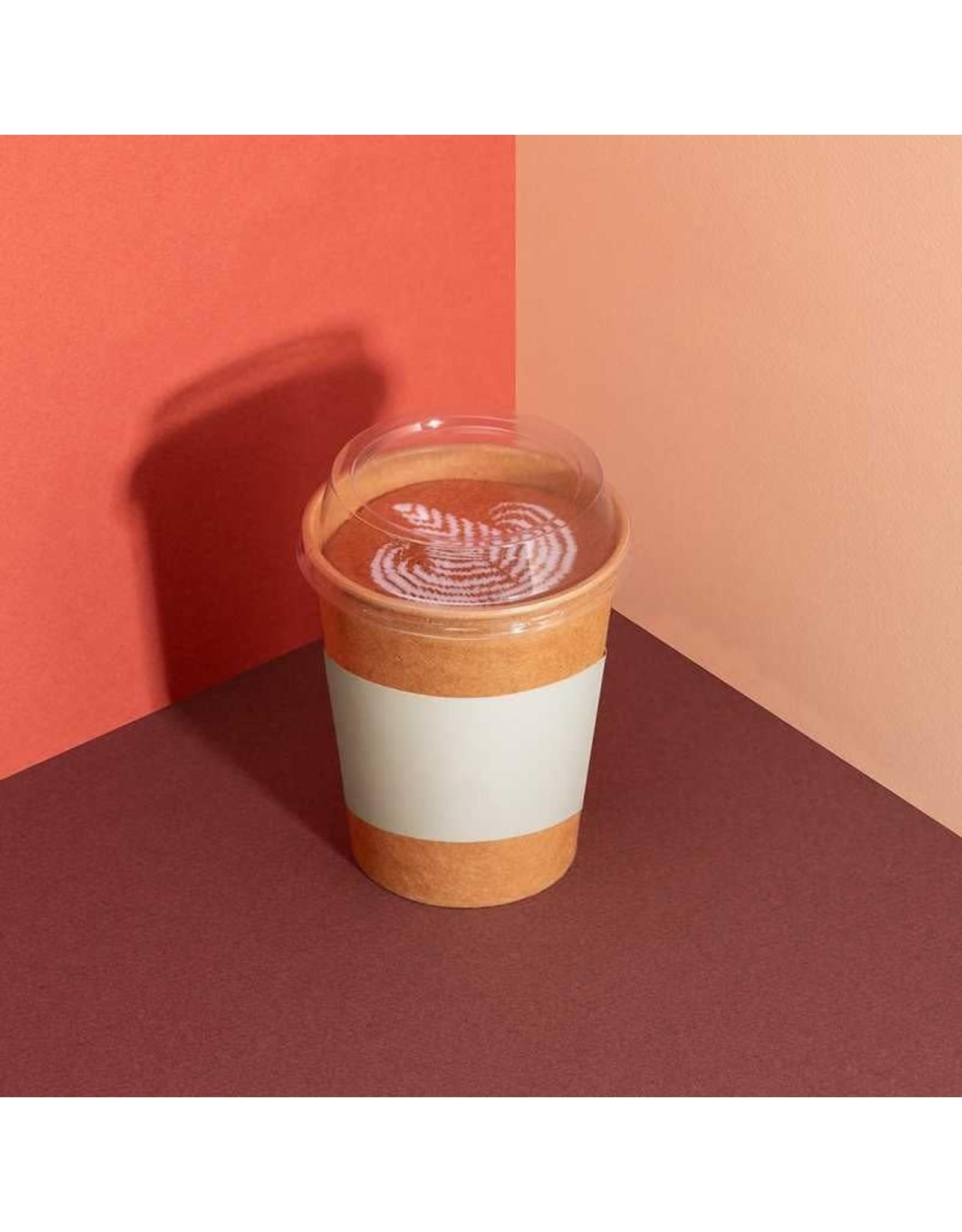 socks with latte macchiato design