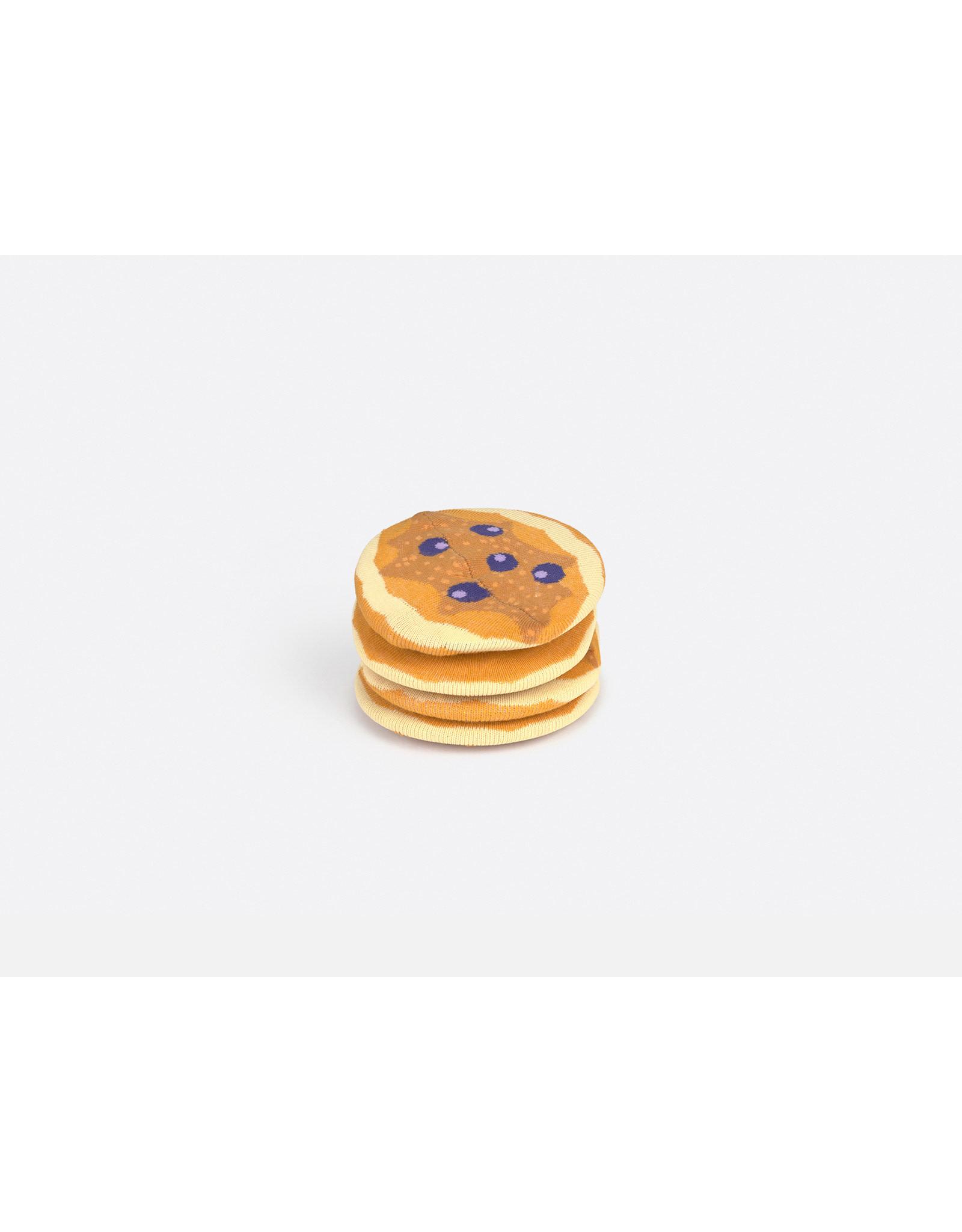 socks with pancake design