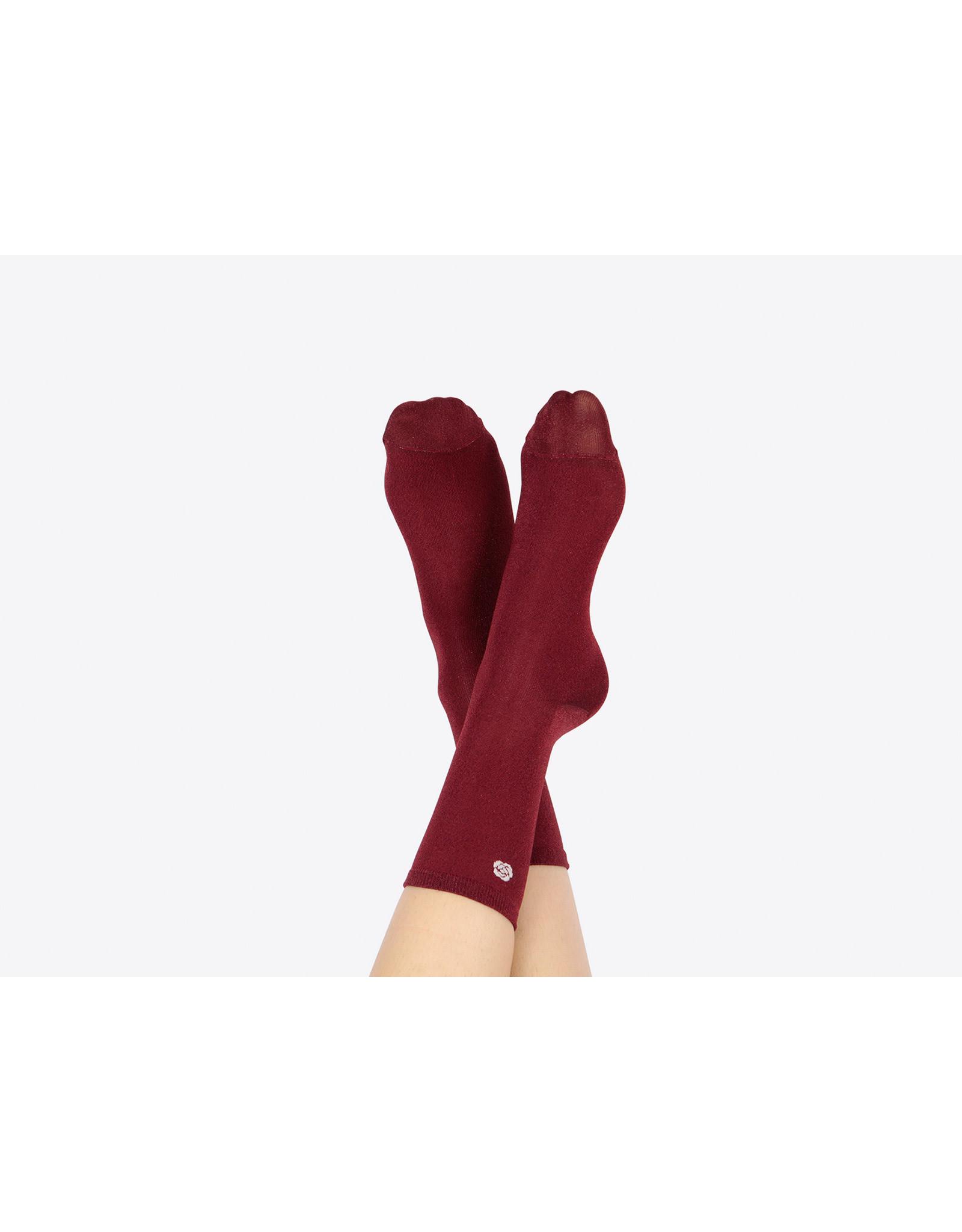 socks shaped as a rose