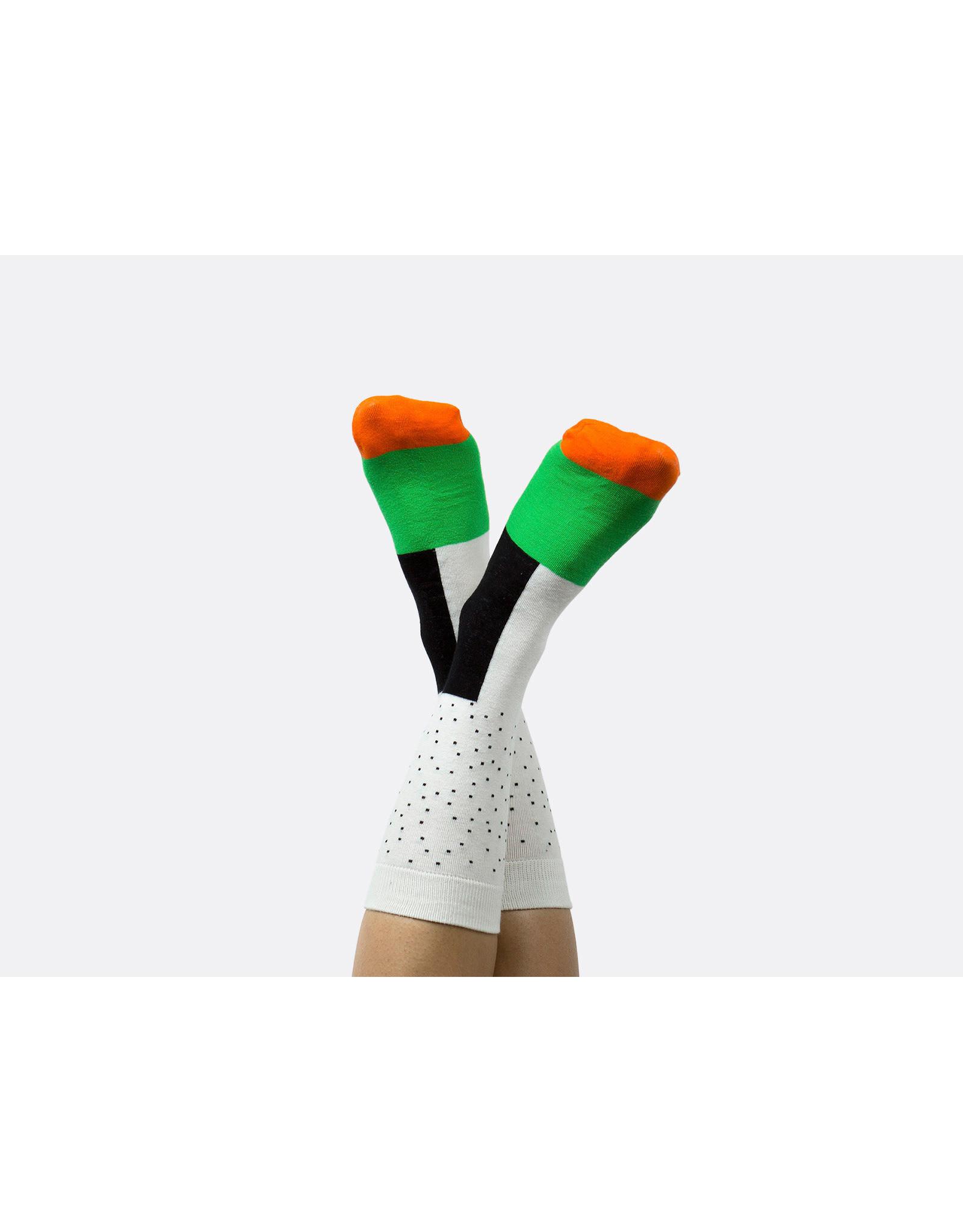 socks with sushi design