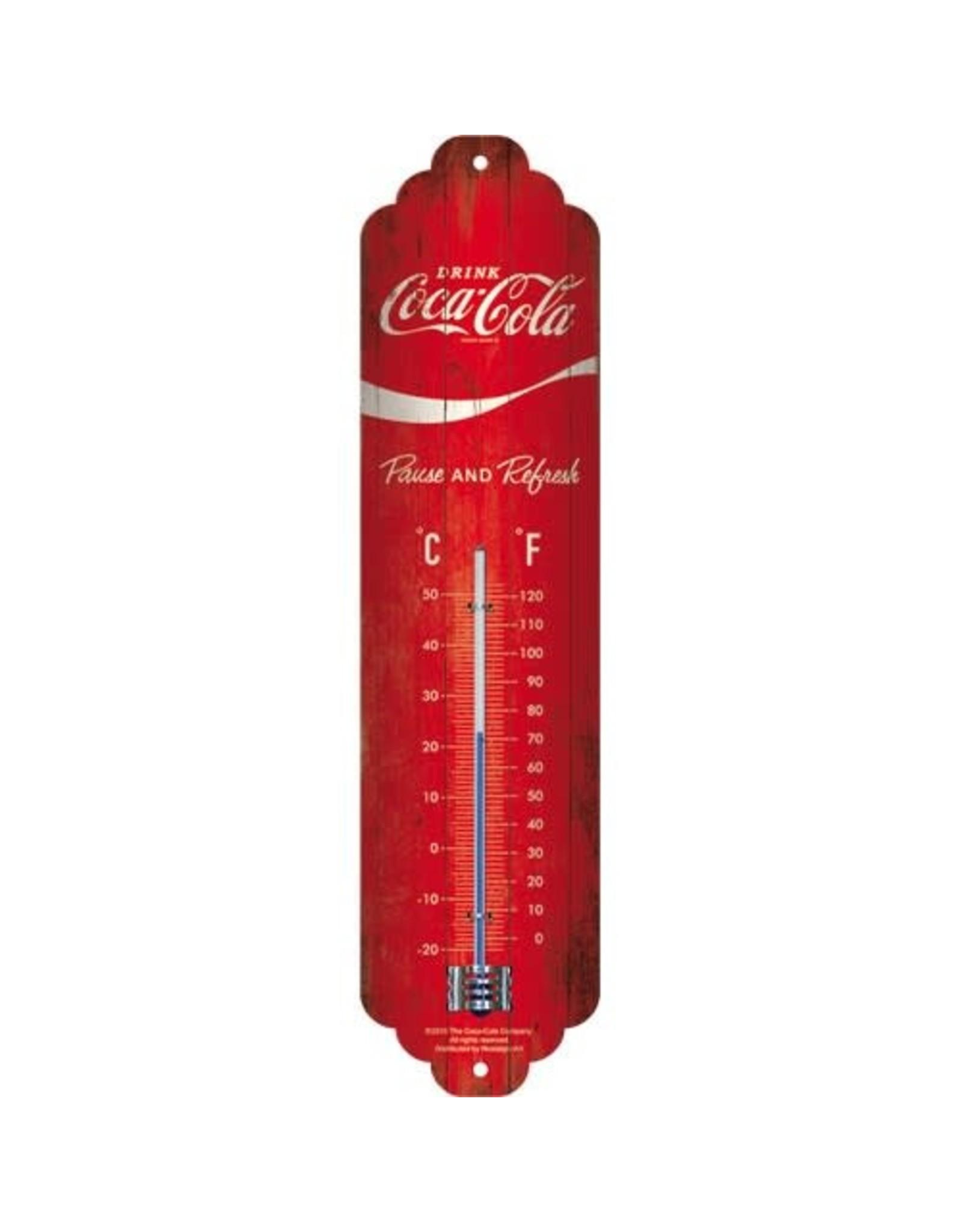 thermometer with coca cola design
