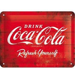 Nostalgic Art metalen bord - 15x20 - Coca Cola