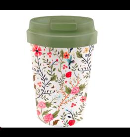 bioloco - easy cup - bloemen en vogels