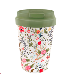 bioloco - easy cup - flowers and birds