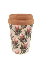 easy cup with protea design