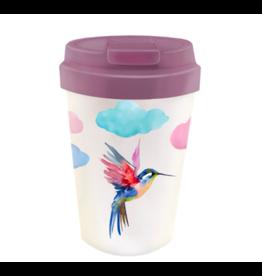 bioloco - easy cup - watercolor bird