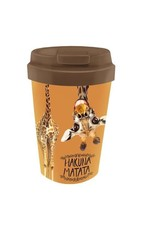 easy cup with giraffe design