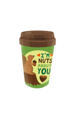 easy cup with squirrel design