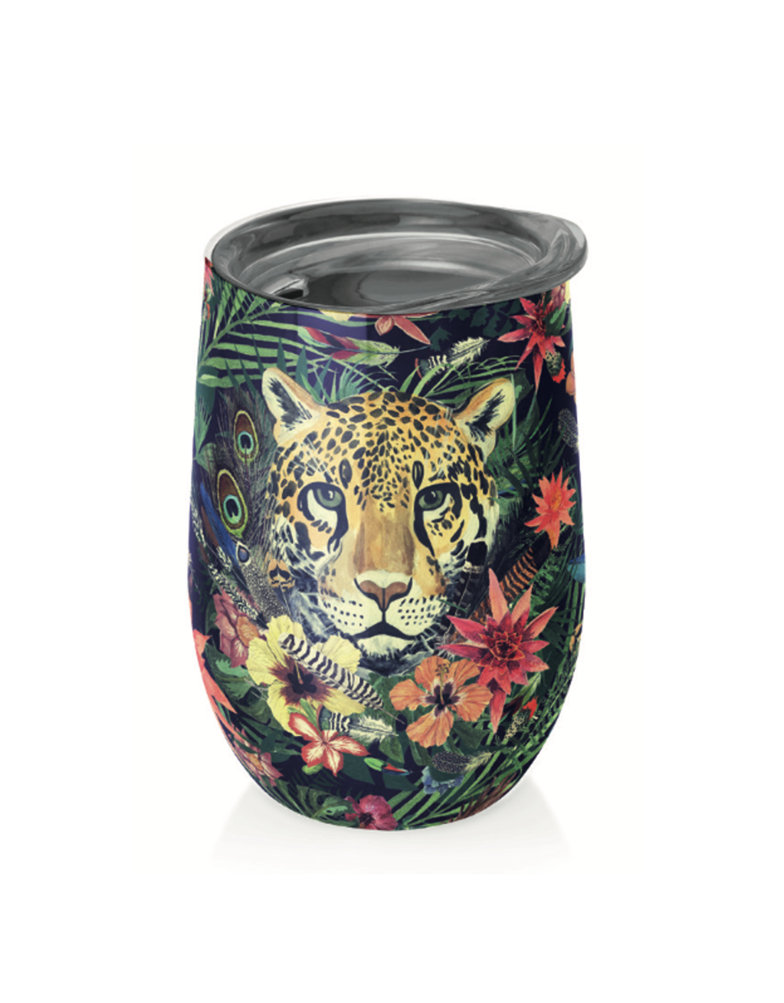 cup with tiger in jungle