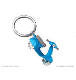 sleutelhanger - scooter (blauw)