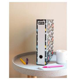 BT21 - binder with clip