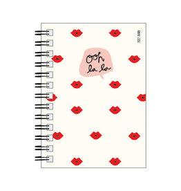 weekly diary 2022 - 12mths - spiral bound - ooh la la
