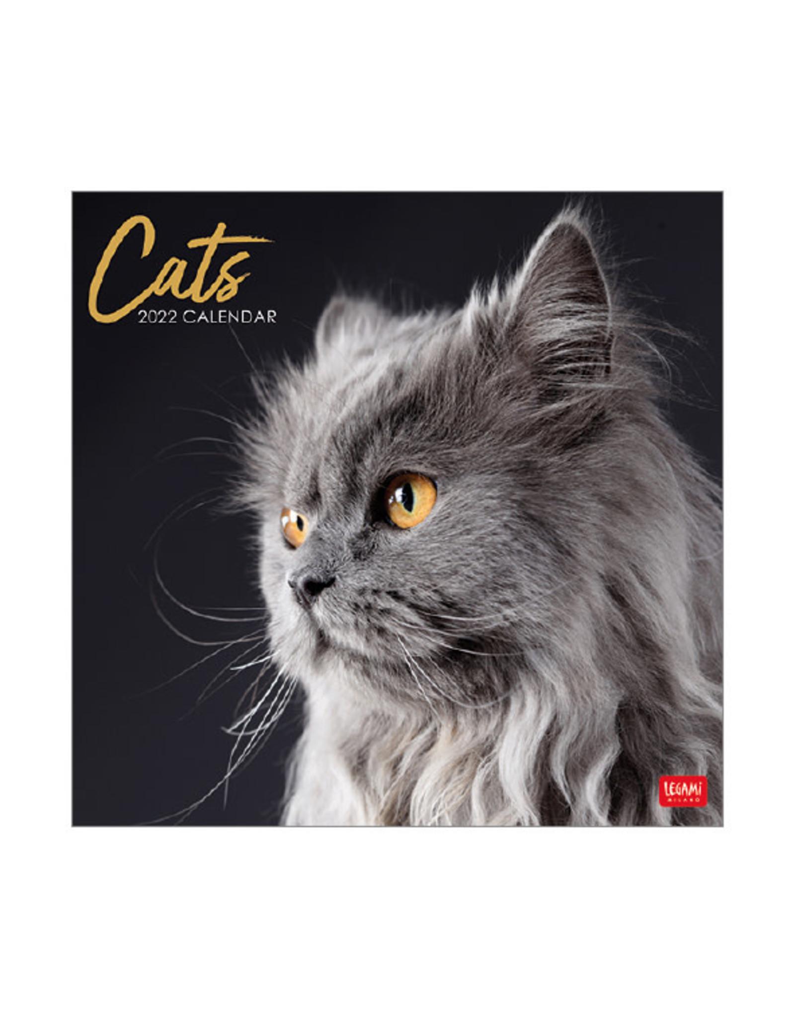Legami calendar 2022 with cats