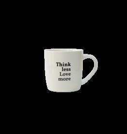 mug - A&G - think less, love more (4)