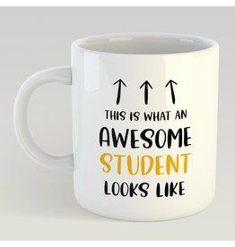 Artige Copy of mug - bedankt voor het leuke schooljaar