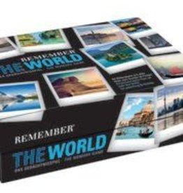 Remember spel - memory - de wereld