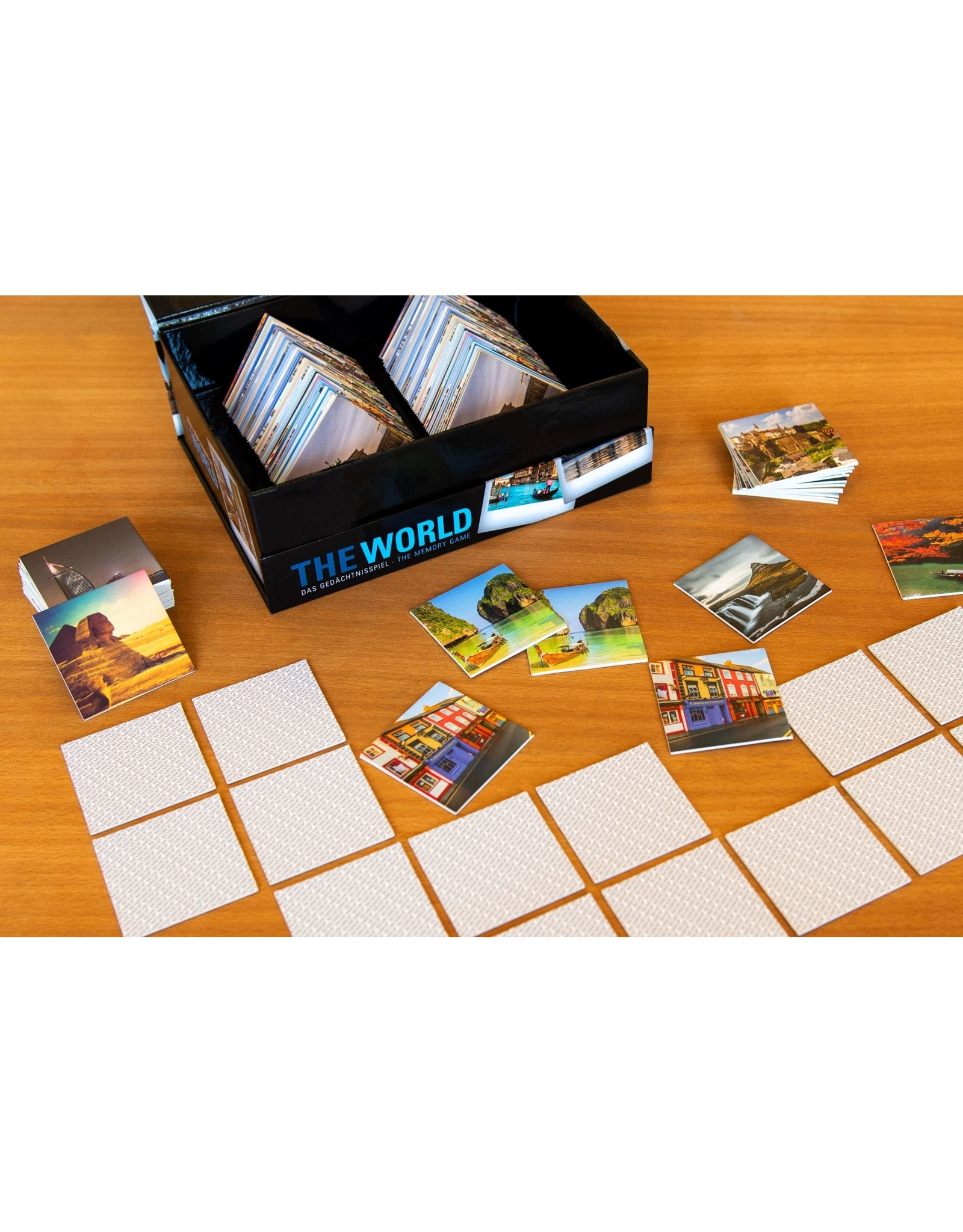 Remember Memory game with pictures from all over the world