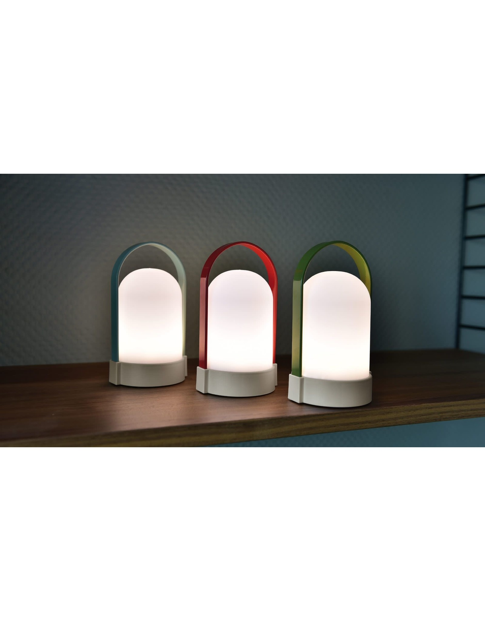 Remember 3 LED lamps with handle