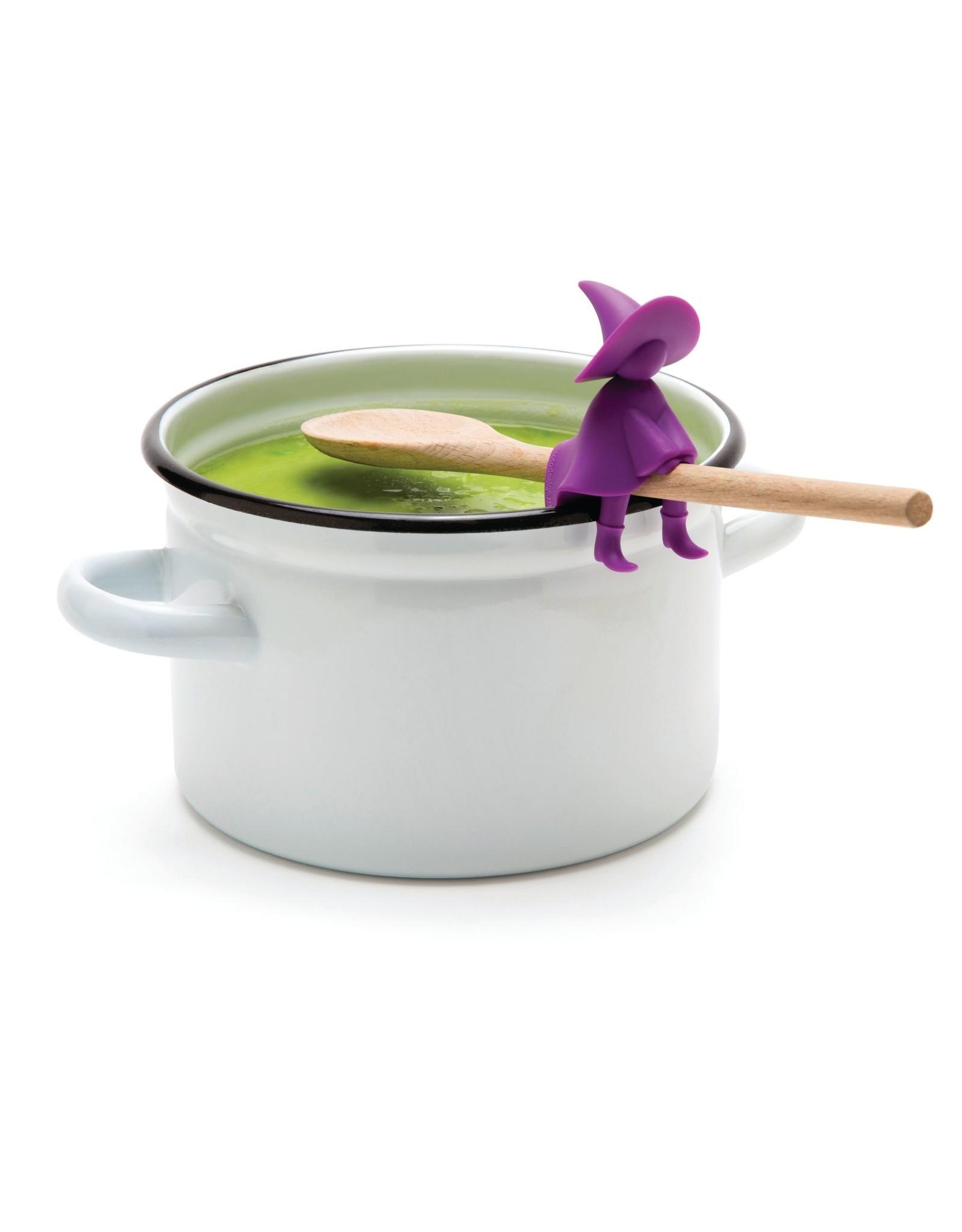 Ototo purple spoon holder - Agatha the wich