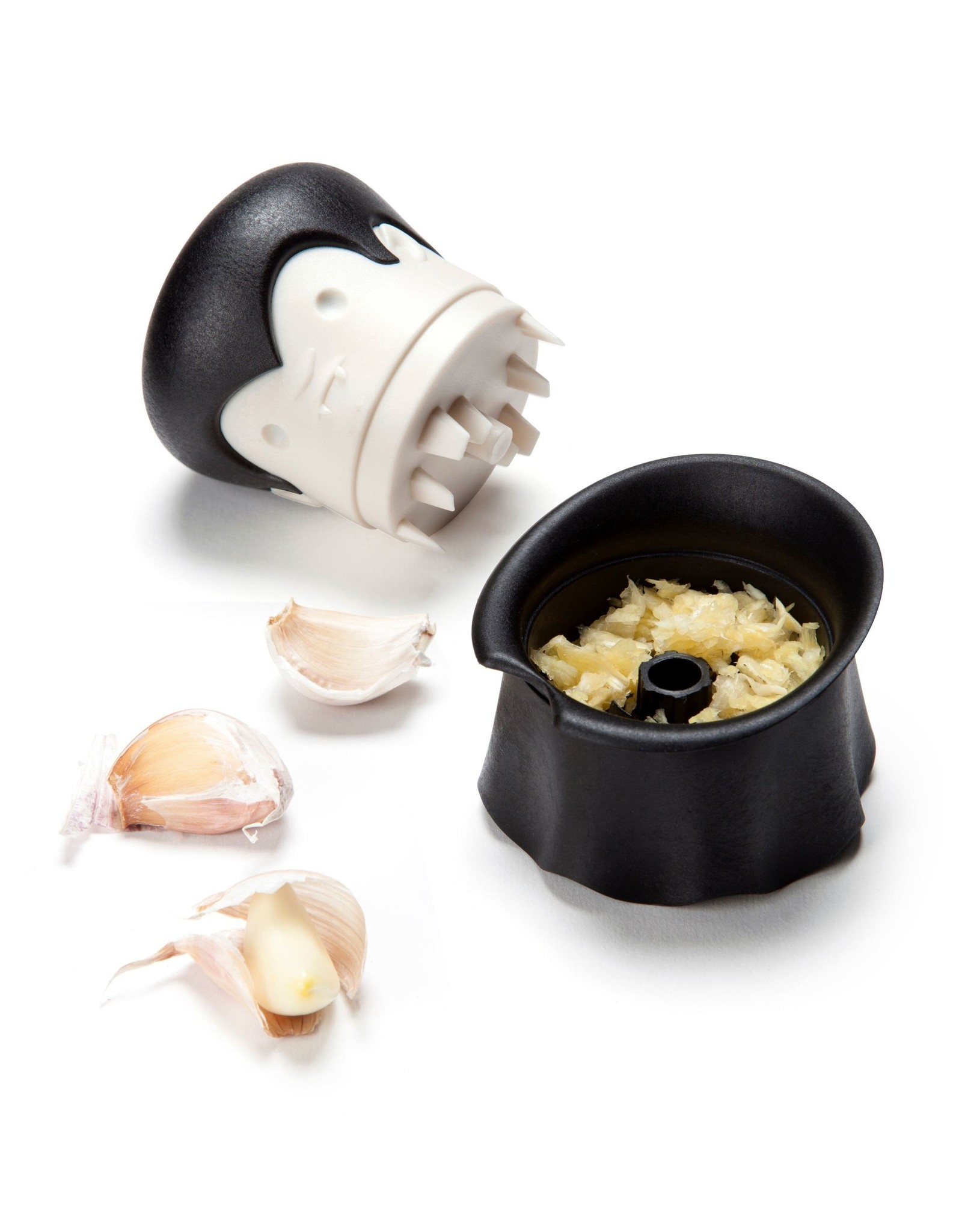 Ototo garlic press in the shape of a vampire