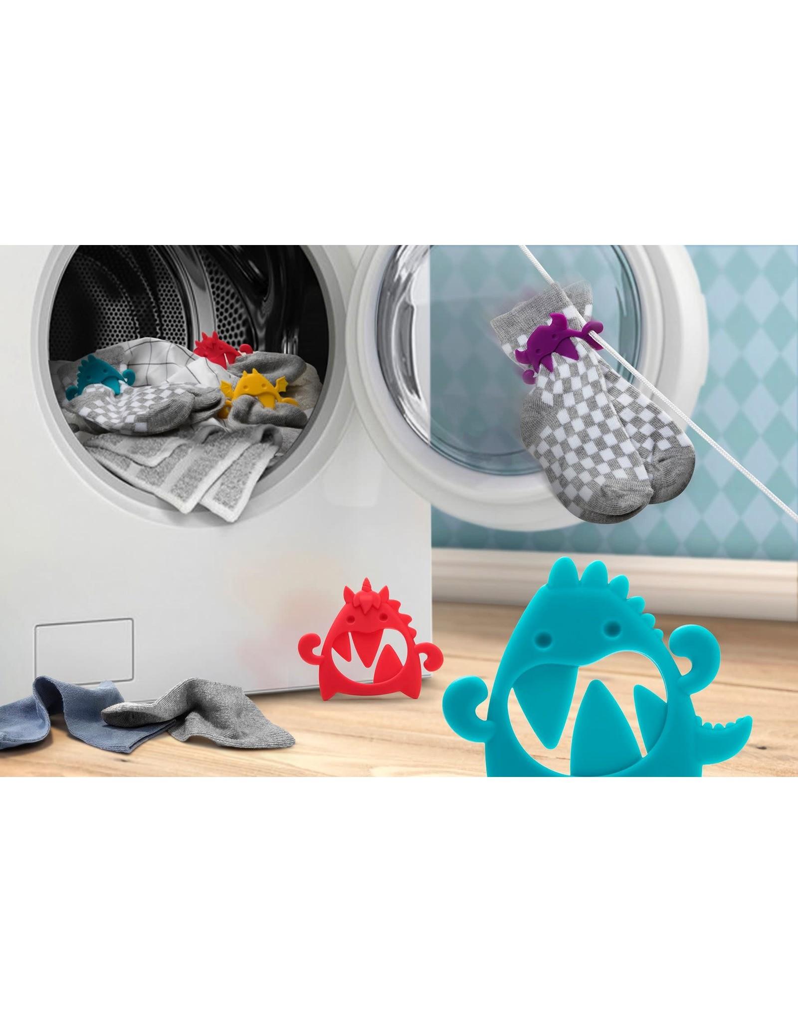 Ototo colourful sock holder - sock monsters