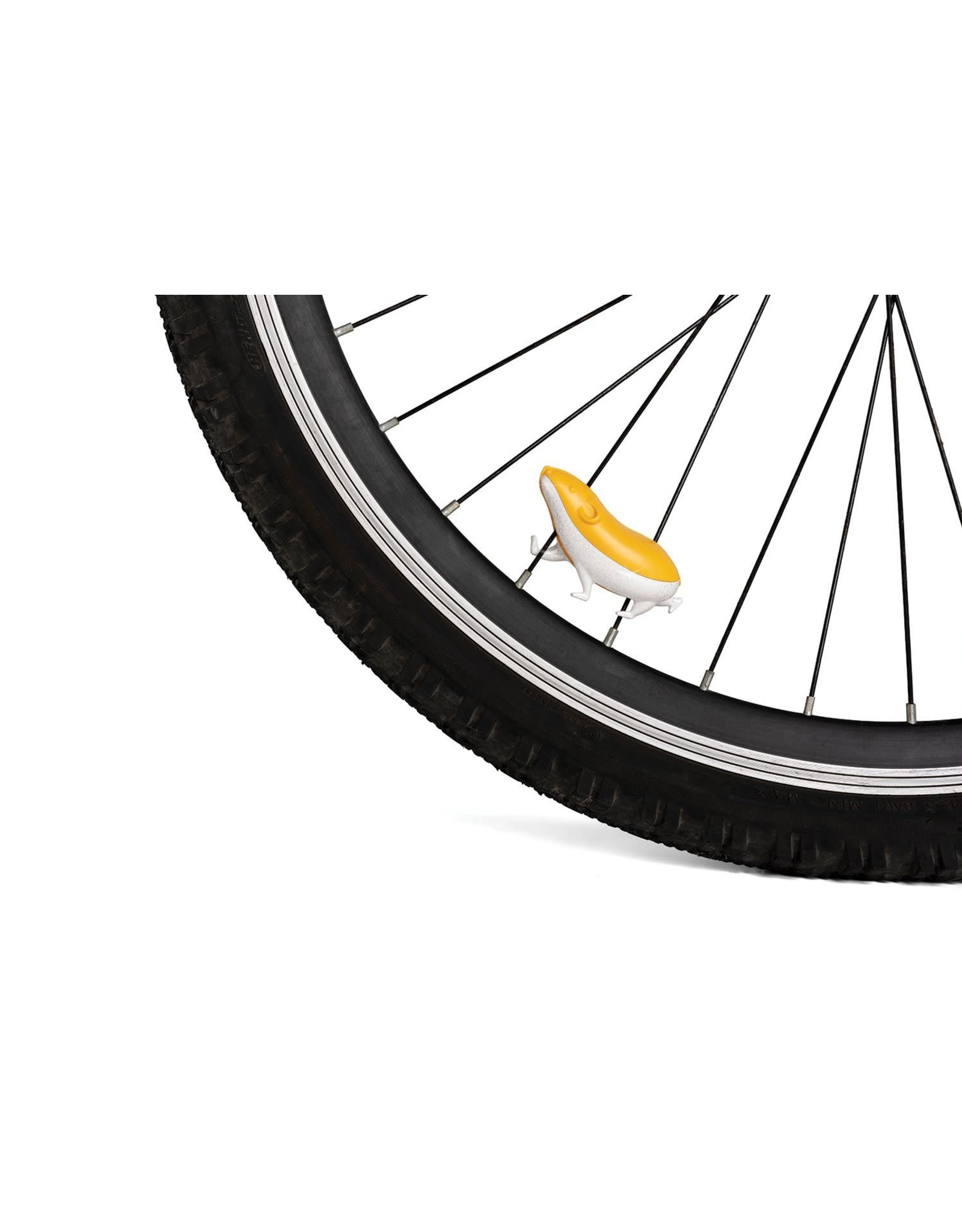 Ototo bicycle accessory for spokes