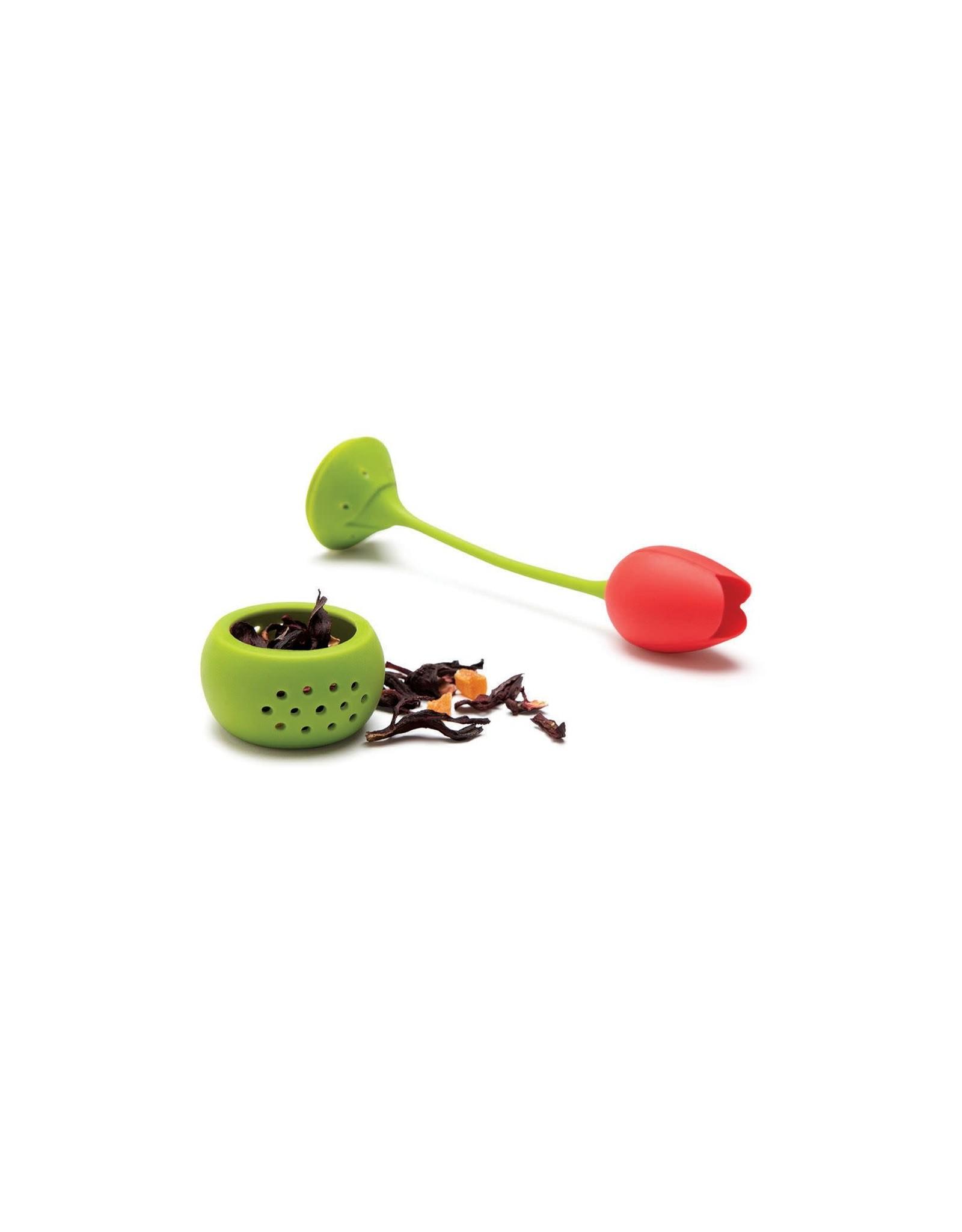 Ototo tea infuser - red tuli
