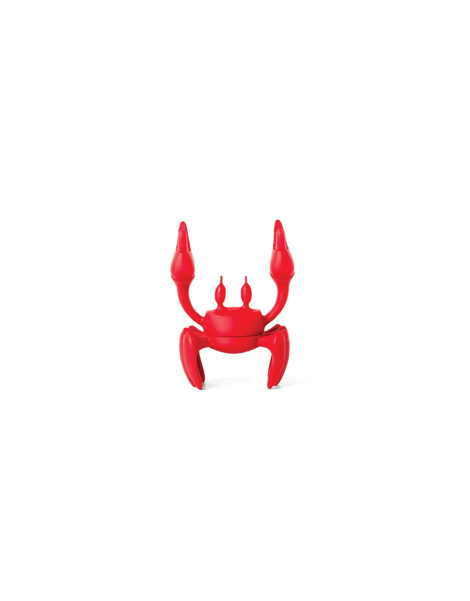 Ototo spoon holder in the shape of a red crab