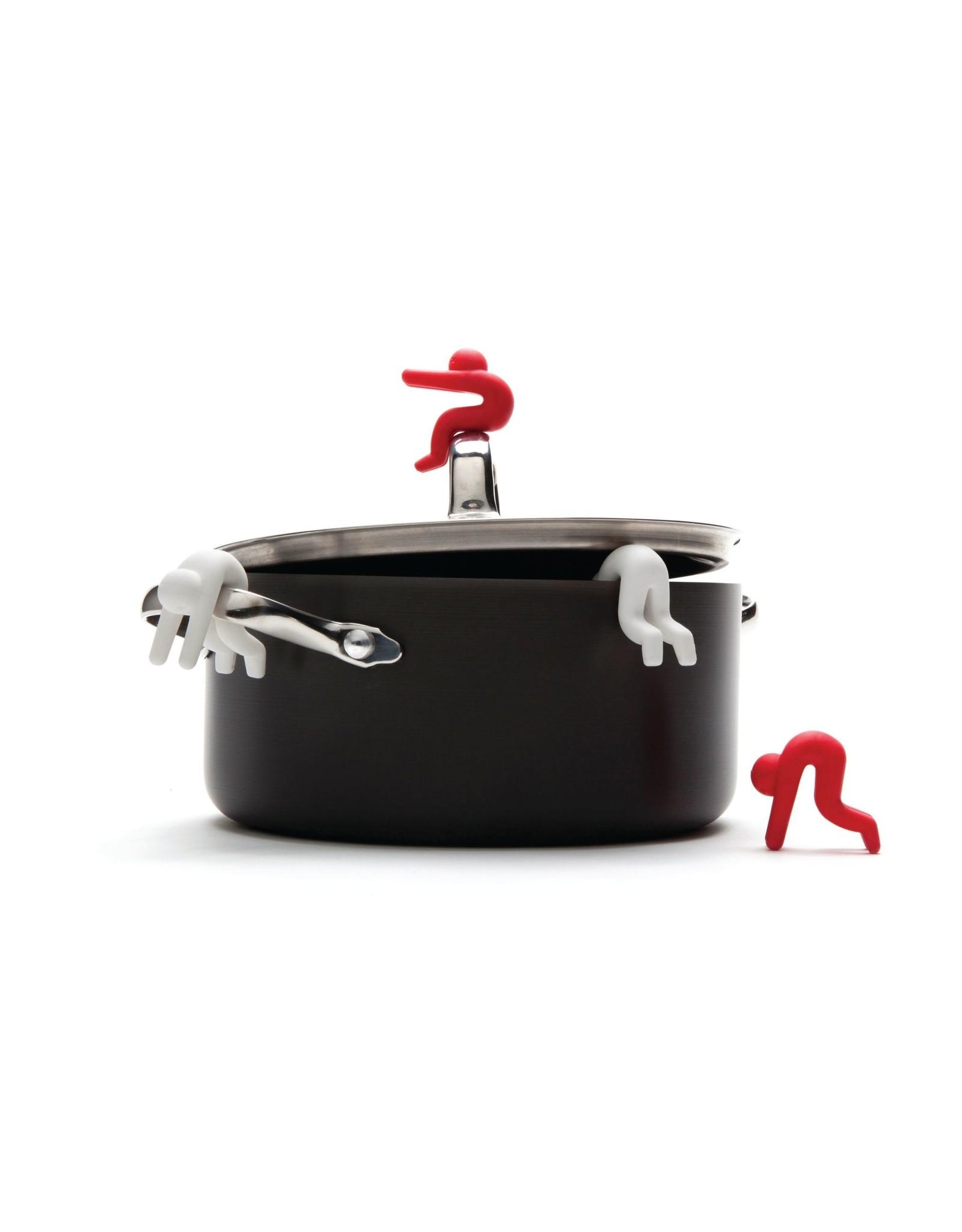 Monkey Business set of 2 lid holder - lid sid
