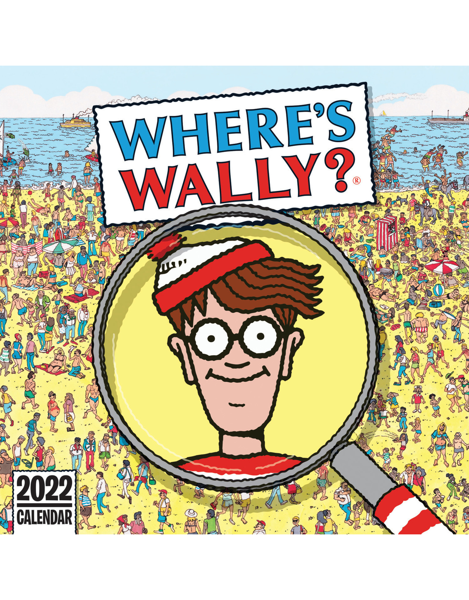 calendar 2022 with where is Wally-pictures?