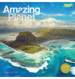calendar 2022 - 30x30 - amazing planet
