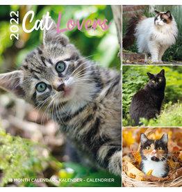 calendar 2022 - 30x30 - cat lovers