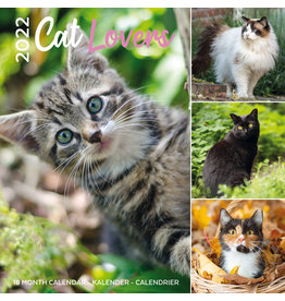 kalender 2022 - 30x30 - cat lovers