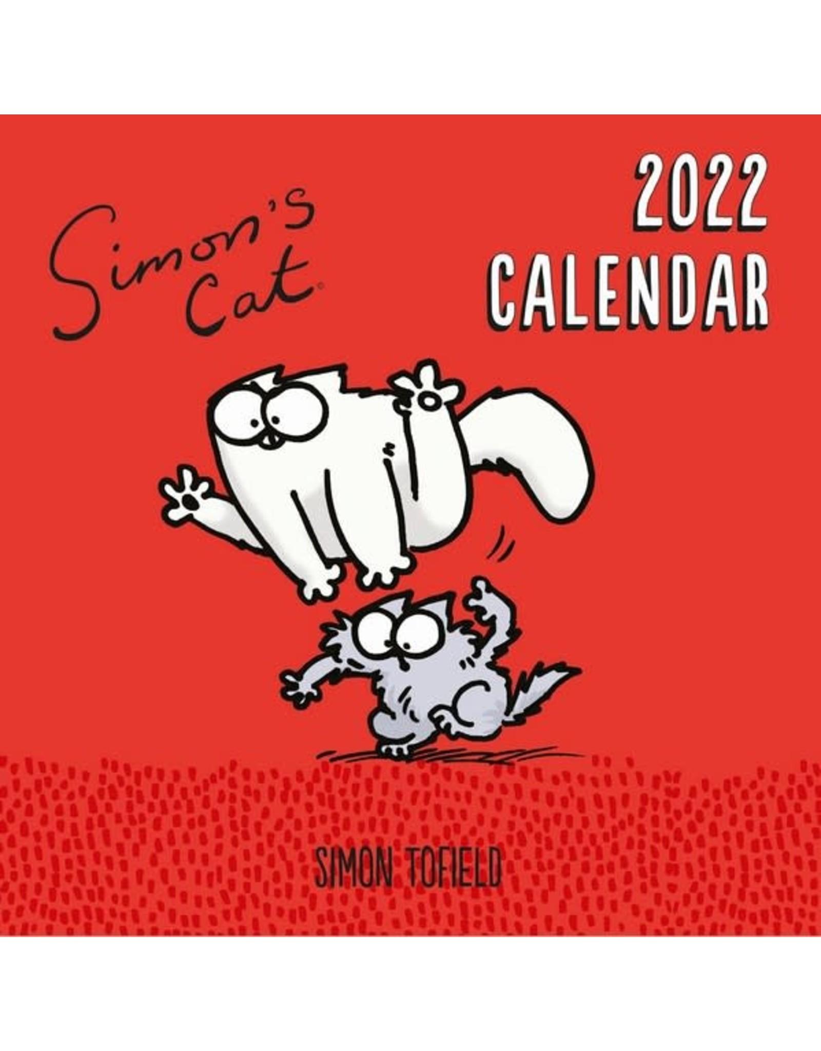 calendar 2022 of Simon the cat