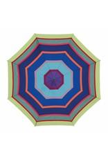 Remember Compacte paraplu met streepjesmotief