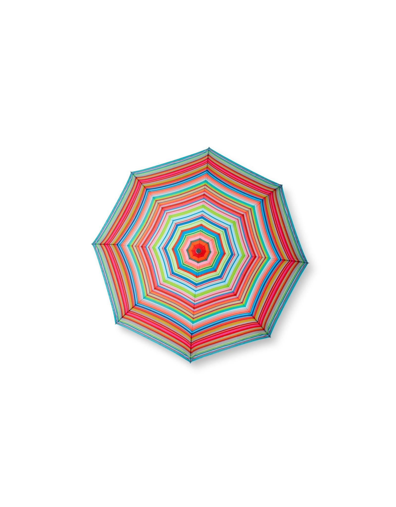 Remember Pocket umbrella with stripes design