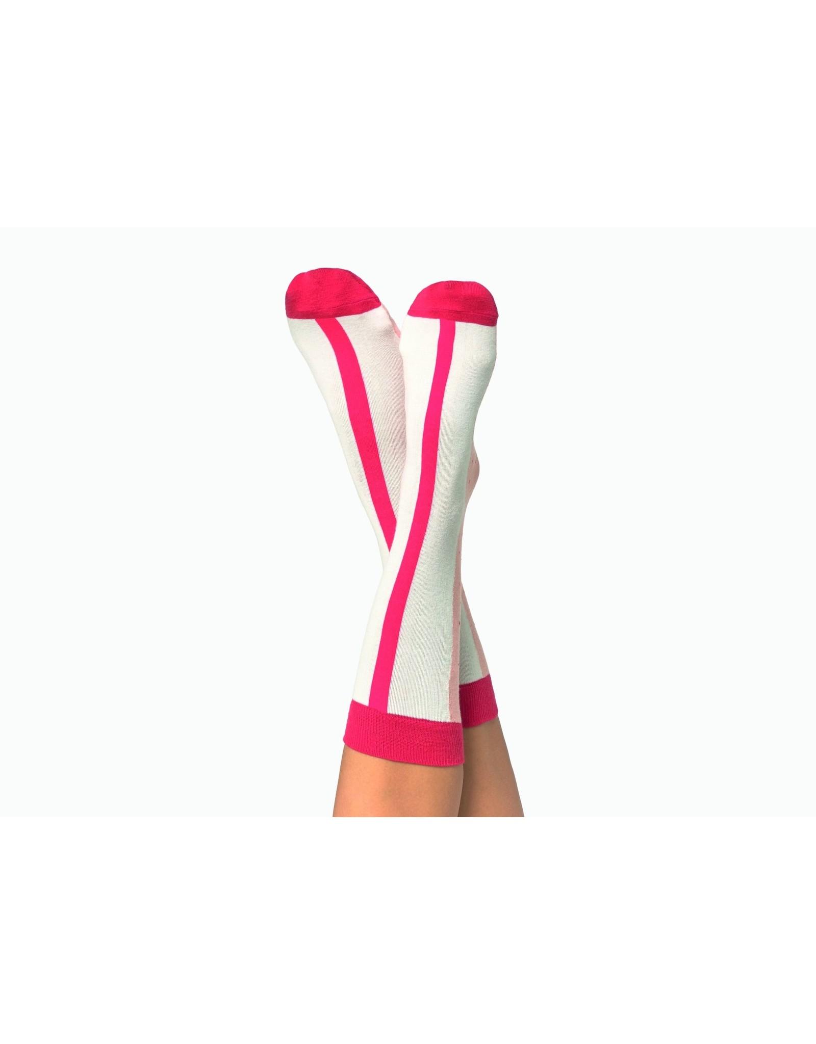 socks - strawberry smoothie (6)