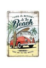 card - VW Bulli - Beach (5)