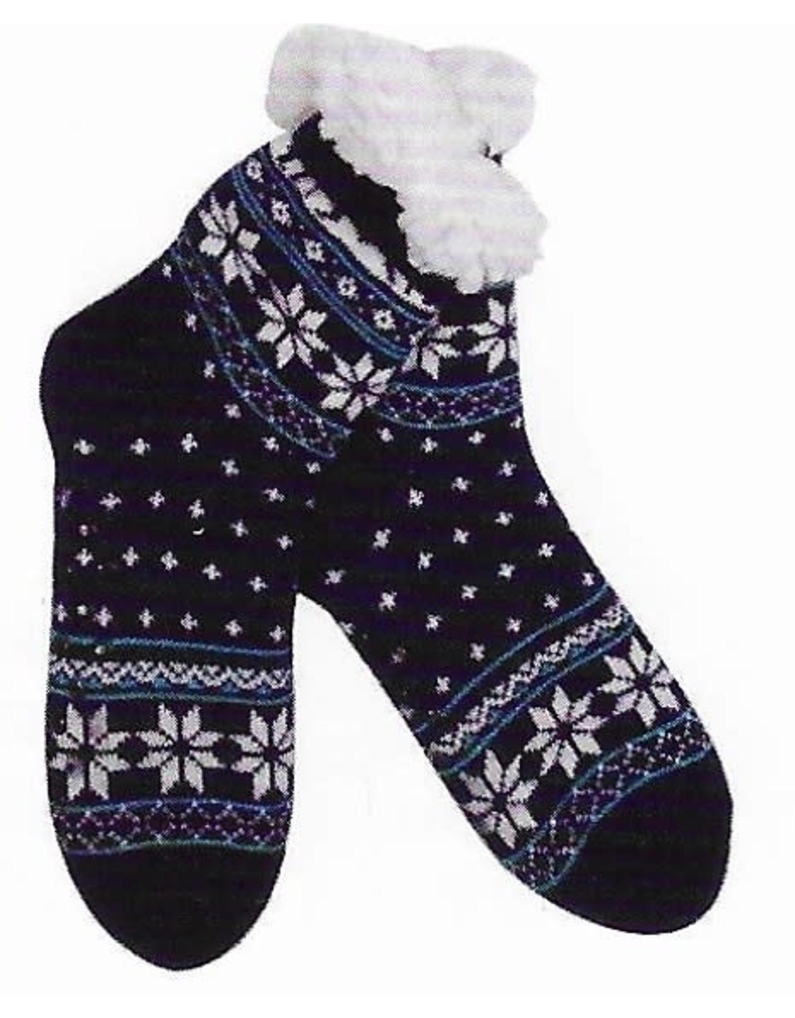 Lietho winter stockings (black/blue/white) - 39-42