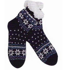 Lietho winter socks - Norway (black/blue/white) (39-42)