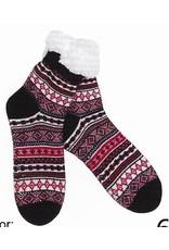 Lietho winter stockings (black/red/white) - 35-38