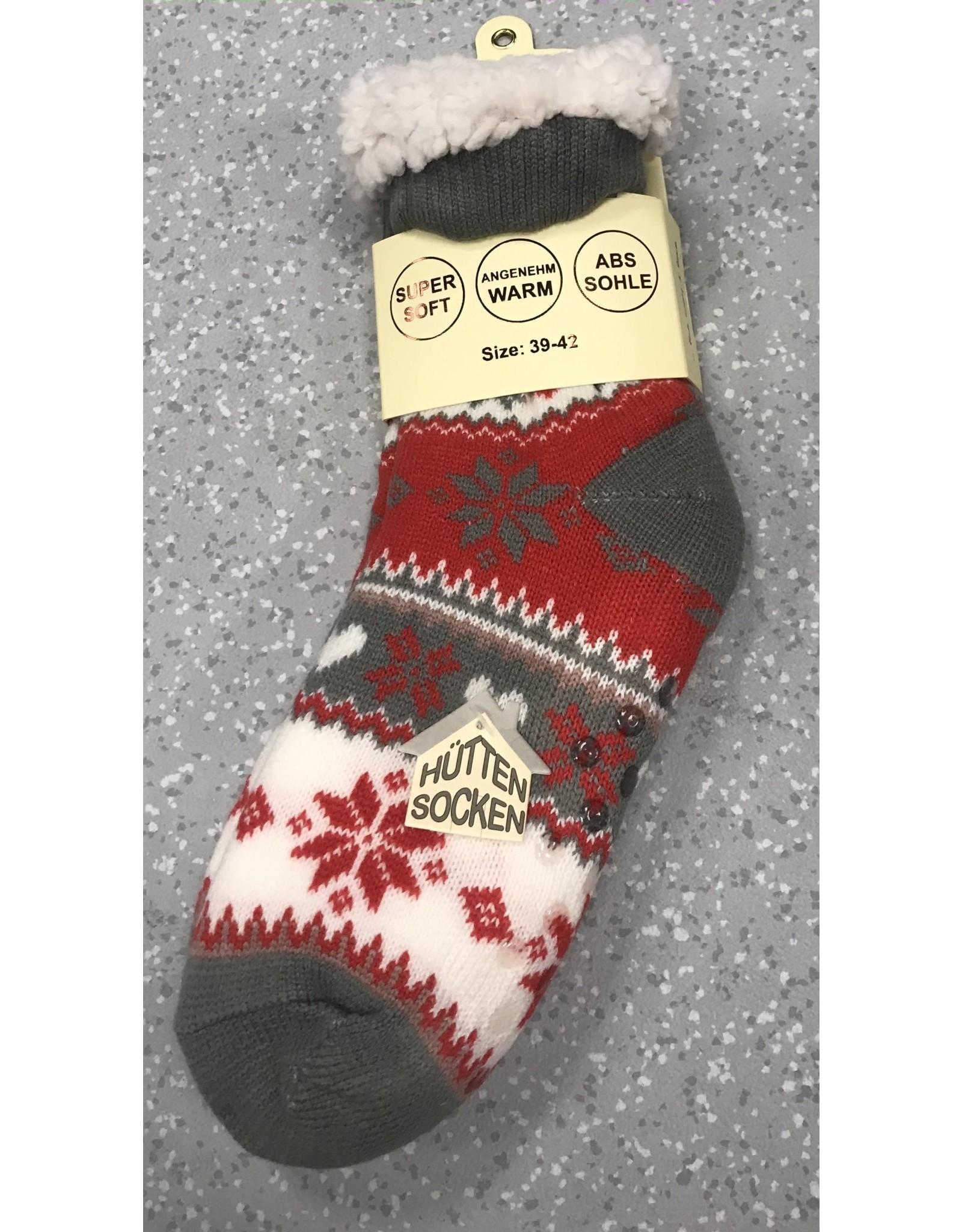 Lietho winter socks - Norway (pink/grey) (39-42)