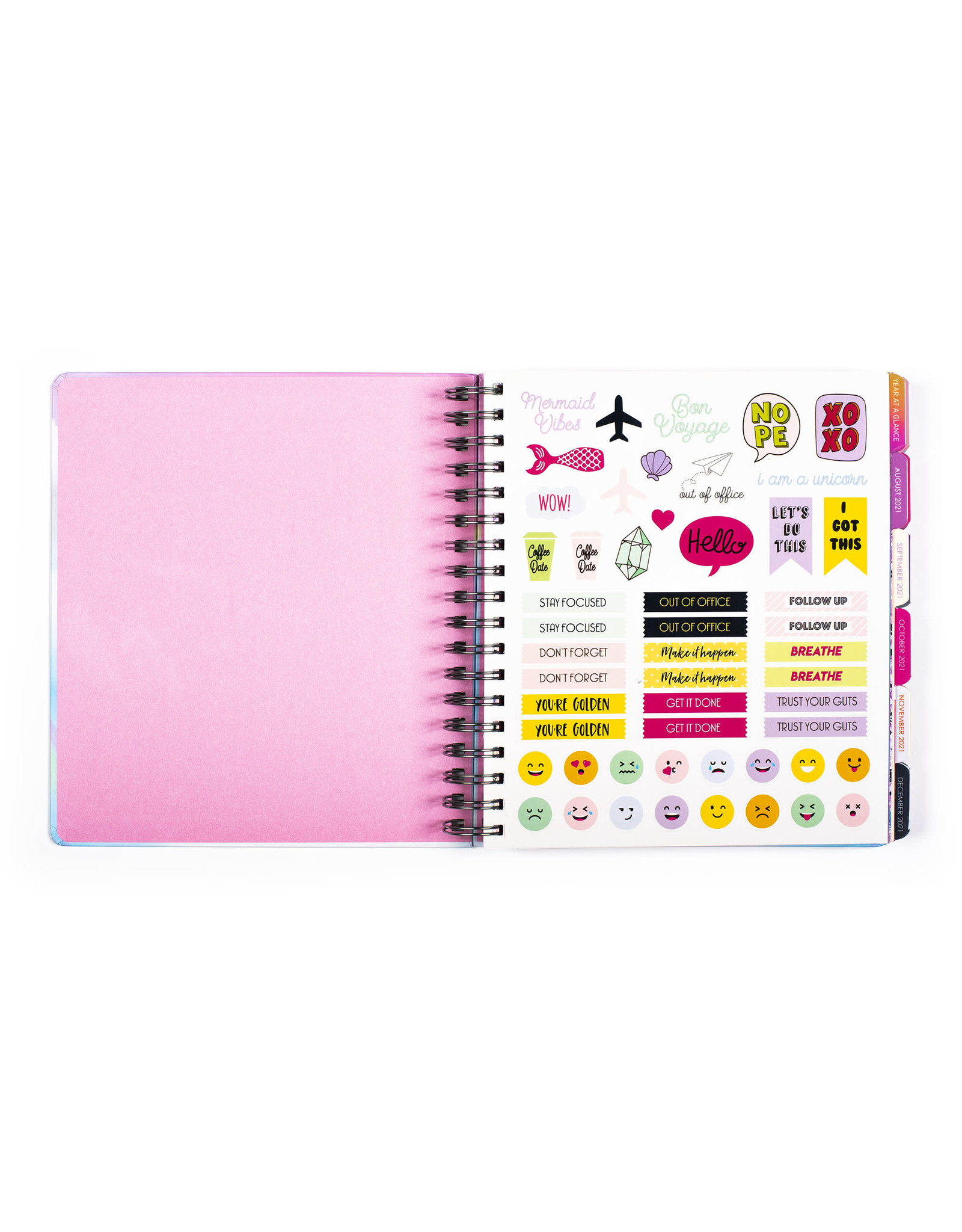 diary (18 months) with rings 'make this year amazing'