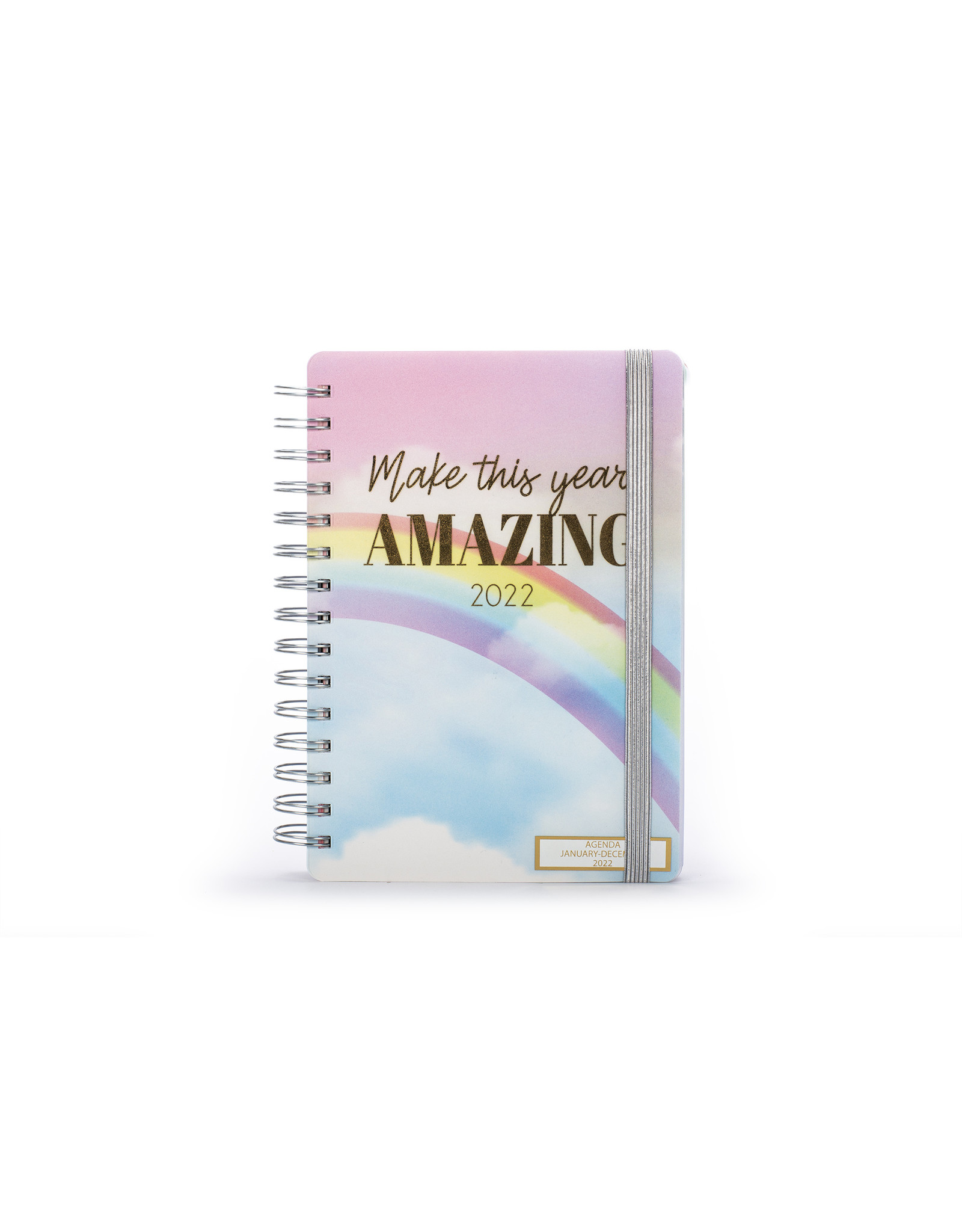 Tri Coastal diary (12 months) with rings 'make this year amazing'