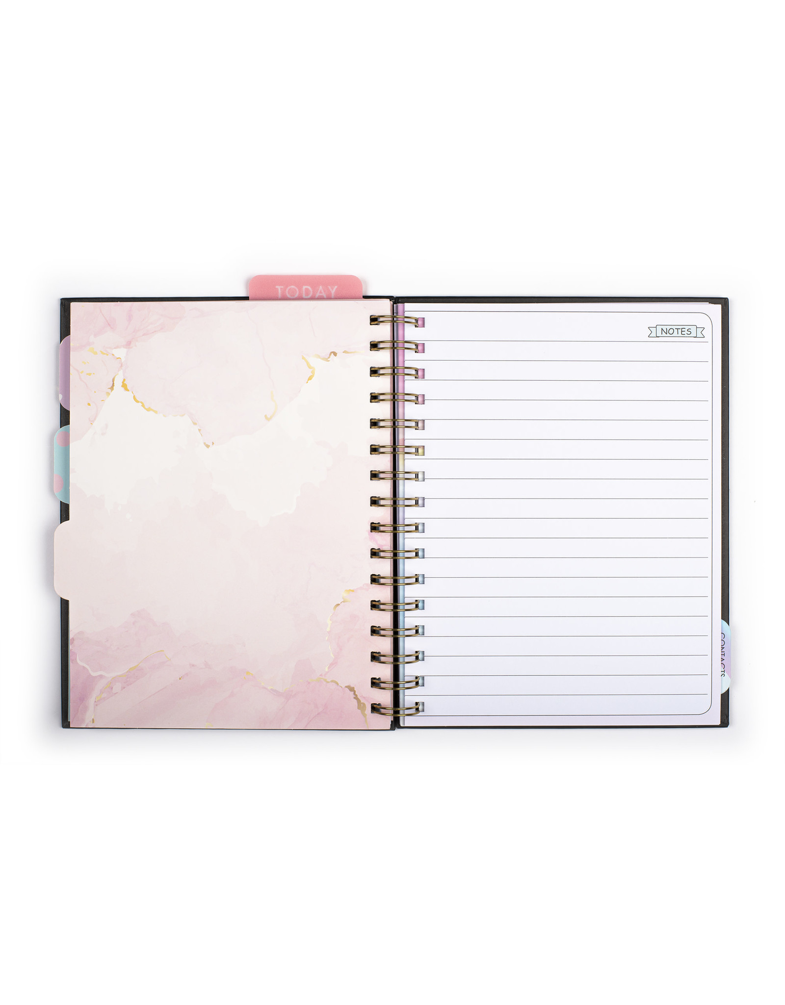 Tri Coastal diary (12 months) with rings 'everyday is your day'