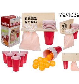 Out Of The Blue beer pong set