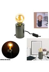 bulb lamp foot - black (4)