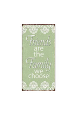 """La Finesse magnet with text """"friends are the family …"""""""