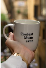 """mug with text """"coolest mum ever"""""""